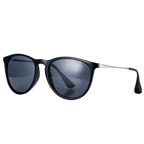 Pro Acme PA4171 Women's Erika Polarized Sunglasses,54mm (Polarized Black - Sunglasses 54mm