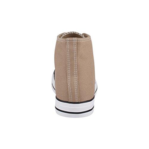 36 Scarpe High Sport Sneaker Uomo Top Scarpe nbsp; Per Elara Donna Sneakers Tessile Unisex UqxA6Z7