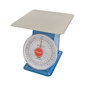 Escali-DS13260P Mercado, Dial Scale with Plate, 132 Lb / 60 Kg