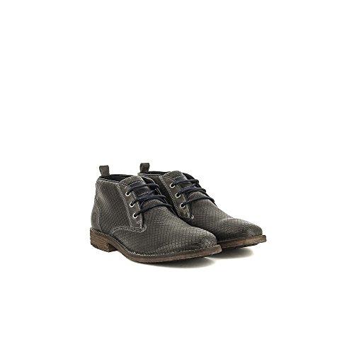 Bullboxer 723-K5-5625A Zapatos de cordones Hombre gris, EU 41