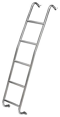 Surco 093S Short Stainless Steel Van Ladder Sprinter - Access Steel Ladder