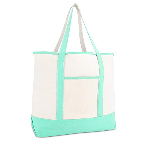Deluxe Zippered Tote Bag - 22