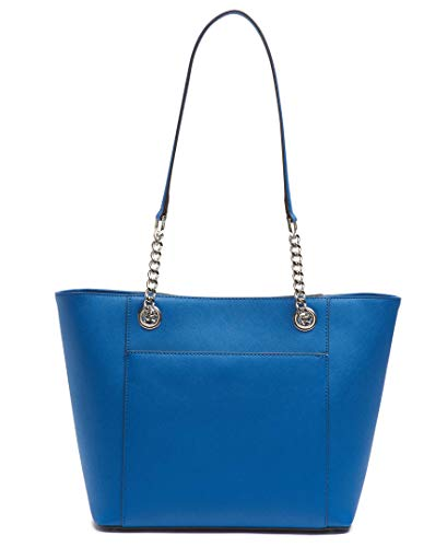 Calvin Klein Hayden Saffiano Leather East/West Top Zip Chain Tote, seaport by Calvin Klein (Image #2)