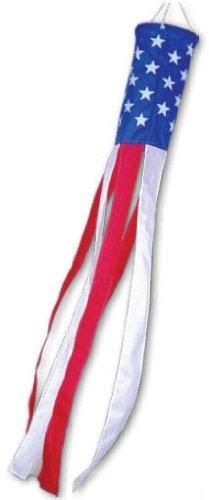 Premier Kites Stars & Stripes Windsock - 18 in. ()