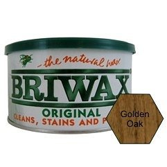 Briwax (Golden Oak) Furniture Wax Polish, Cleans, stains, and polishes