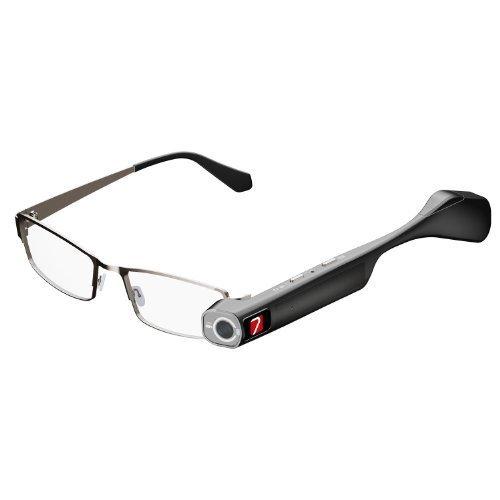 TheiaPro テンプル交換式フルHDカメラ搭載スマートアイグラス「ティアプロ」 [並行輸入品] B01FVU7DSK
