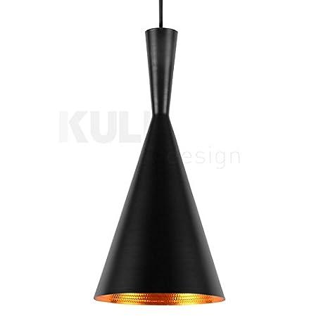 Lámpara Beat Tall Negra. Lámpara de techo inspirada en el ...