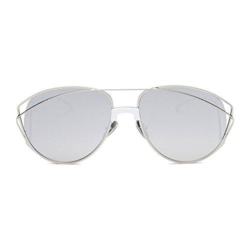 Para Al Marco Protector Lentes Grey Libre Viajar Retro Deporte Vintage Vacaciones Gafas Dulce Moda Grande Aire Polarizadas Conducir Moda De UV400 Mujer 46qvX