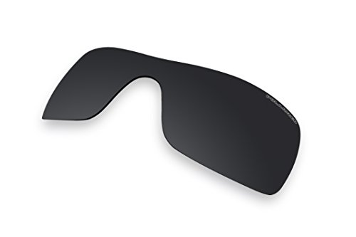 Sunglass Lenses Replacement Polarized for Oakley Batwolf Sunglasses (Stealth Black) by BVANQ