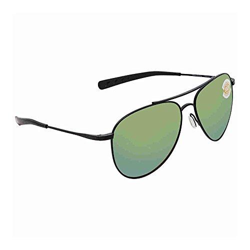 Mirror Sunglasses Del Green Cook Mar Satin Black Costa wt80dq0