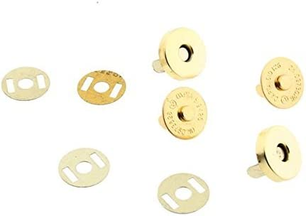 14 Mm 18 mm Rond Magnétique Snap Fasteners Fermoirs boutons pour sac à main Craft Sewing