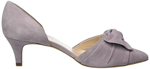 Suede Kaiser Peter Cerrada pastell Zapatos Para Tacón De Mujer 475 Punta Gris Calua Con 7wqdw4ga