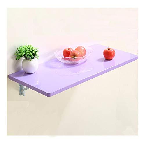 El de Pared Mesa Plegable facilita a la Mesa de Comedor for Elegir, Garantiza Que el Soporte Puede ser Abierta y Cerrada libremente. (Size : 100x50cm)