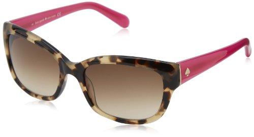 Kate Spade Women's Johans Round Sunglasses,Camel , - Camel Sunglasses