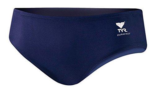 Tyr Solid Racer - TYR Sport Boys' Solid Racer Swim Suit,Navy,28
