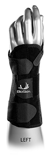DP3 BioSkin Wrist Brace (M-L) Hypoallergenic Support for Carpal Tunnel
