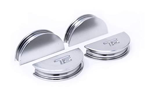 - Torque Solution Valve Cover Cam Seals (Silver) Fits Subaru WRX/STI/FXT/LGT 02-06