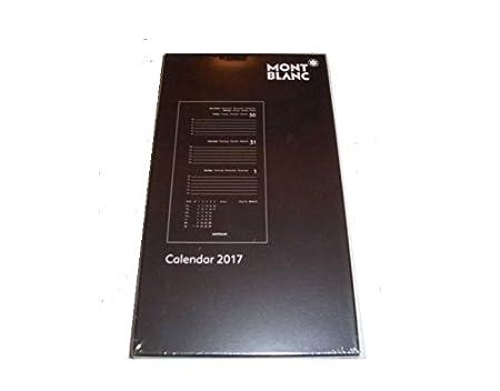 Recarga 2017 agenda Montblanc® Organiser A6: Amazon.es ...