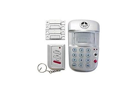 Kit Sistema Alarma Mini con teclado sirena Sensor 2 ...