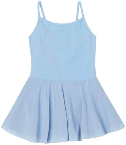 Sansha Little Girls' Savanah Camisole Dress, Light blue ,Small(C)/4-6 (Sansha Skirt)