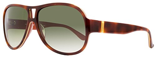 Salvatore Ferragamo Sunglasses SF623S 222 Light Havana - Ferragamo Aviator Sunglasses