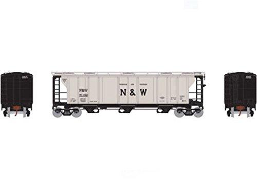 N PS-2 2893 3-Bay Covered Hopper, N&W #71224