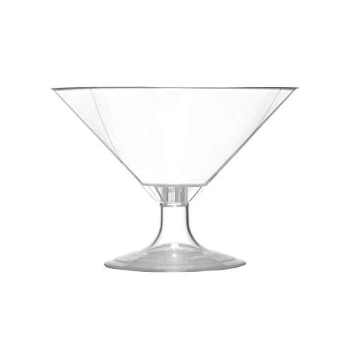 (SelfEco Compostable Martini Cups with Garnish Hangers, 70 Count, 4