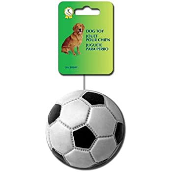 Pet Shoppe Squeaky Dog Toy Soccer Ball