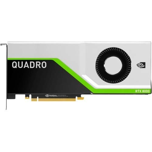 Hewlett Packard Enterprise Graphics Card – Quadro RTX 8000-48 GB GDDR6 – PCIe 3.0 x16 – for ProLiant DL380 Gen10