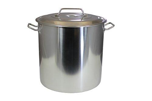 Stock Pot with Lid, 80 Quart