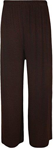 Papaval - Pantalón - para mujer Brown Plain