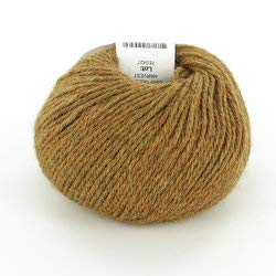 (Valley Yarns Sunderland DK Weight Yarn, 100% Baby Alpaca - C855 - Golden Harvest)
