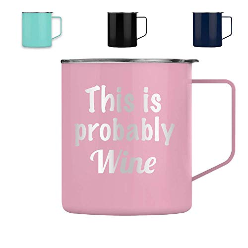 This is Probably Wine - Tumbler Cup Glass Mug Wine Wine...