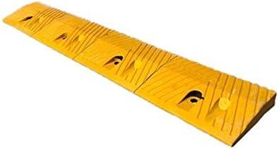 安全性 ガレージしきい値のスロープは、多機能ノンスリップラバー上り坂パッド縁石は、駐車場ガレージサービスランプをランプ さまざまなランプ (Color : Yellow, Size : 100*15*3.8CM)