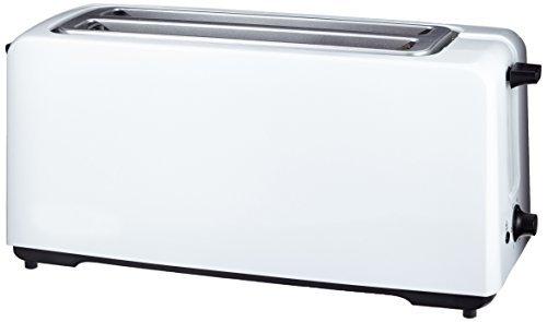 AmazonBasics Tostadora automática W rebanadas color blanco
