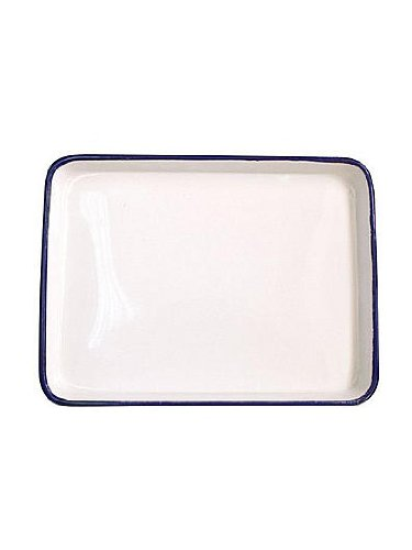 Jack Richeson Butcher Tray 11 in. x 15 in. oblong white [PACK OF 2 ] by Jack Richeson