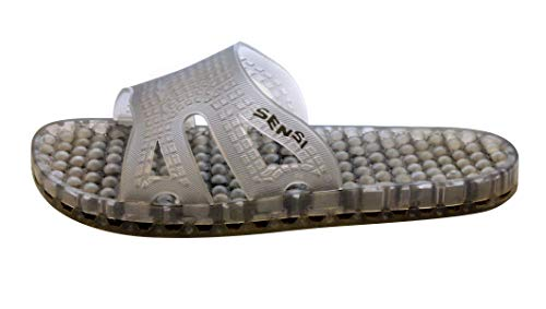 98322871d3e8e8 Sensi Sandals Translucent Vapor Waterproof Slide Recovery Spa Sandal with  Massaging Bumps. Handmade in Italy