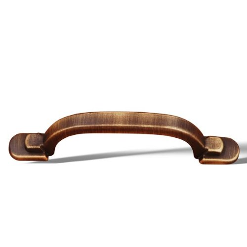 Foot Rectangular Step Pull Two (Rk International - Antique English Rki Two Step Foot Rectangular Pull (Rkicp42Ae))