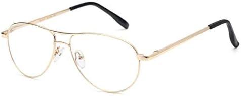 大きなフレームの老眼鏡、疲労ポータブル抗青色光老眼鏡、雄光樹脂レンズHD老眼鏡、雌古い老眼鏡、中年老眼鏡 (Color : Gold, Size : +2.0x)