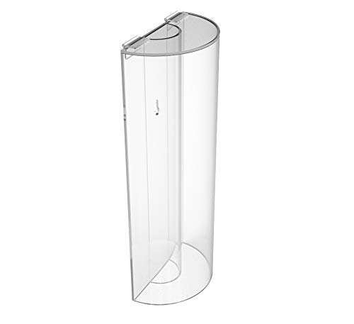 (FixtureDisplays Plexiglass Acrylic Lucite Clear Transparent Rice Grains Cereal Display Spice Container Coffee Bean Bin Candy Tube Donation Box Piggybank 100858-FBA)