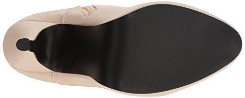 Eve-106 Plateau-Schnürstiefel Schnürsenkel und mit Stöckelabsatz Matte Creme - Steampunk Victorian - (EU 47 US = 16) - Pleaser Rosa-Aufkleber