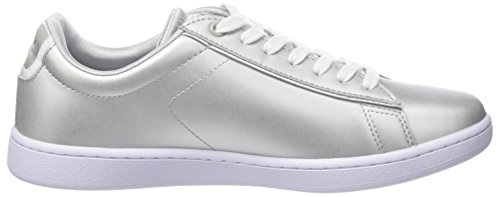 Gris Wht Lt 1 118 Baskets Carnaby Lacoste SPW Femme Gry Evo wH00ZA