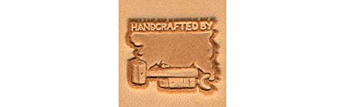 Tandy Leather Handcrafted By Craftool 3-D Stamp 88400-00