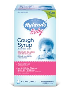 HYLANDS Children's Cough Syrup w/Honey 4 oz