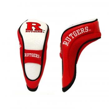 Team Golf NCAA Rutgers Scarlet Knights Hybrid Golf Club Headcover, Hook-and-Loop Closure, Velour lined for Extra Club Protection