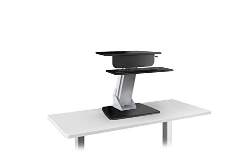 LIFT Sit-Stand workstation with weighted base, desk clamp, 30