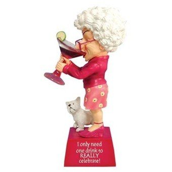Westland Giftware Cosmo 6-1/2-Inch Biddys - Figurines Biddys