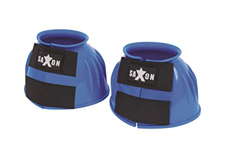 Saxon Double Tape PVC Ribbed Bell Boots (Full) (Light - Pvc Bell Boots