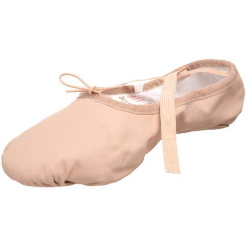Sansha Pro 1 Leather Ballet Slipper,Pink,16 M US Women's/12 M US Men's by Sansha