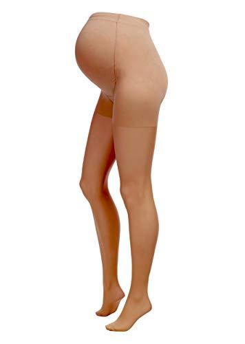 Herzmutter 20 DEN Collant Premaman – Collant Maternita – Collant per Futura Mamma – Calze Maternità Comode-Elasticizzate… Premaman